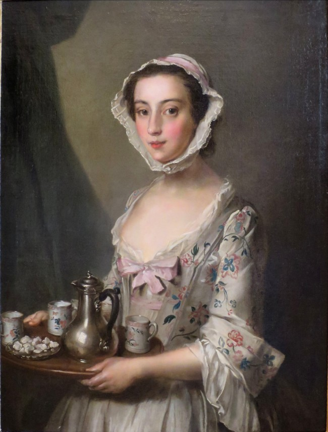 Girl with a Tray_Philip Mercier(1689-1760)_1750