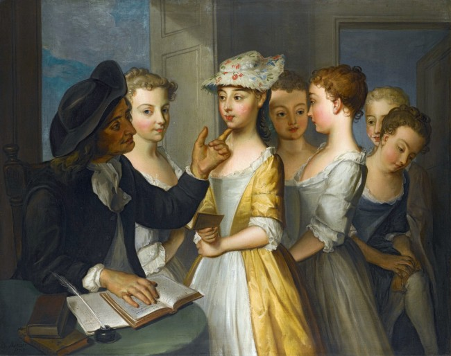 School for Girls_Philip Mercier (circa 1689-1760)
